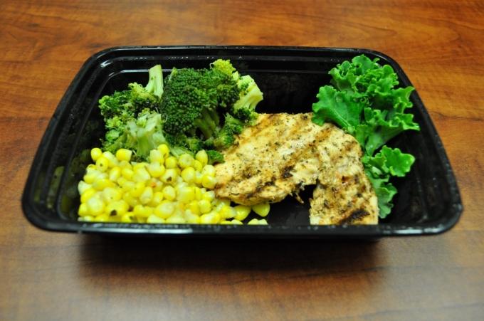 Grilled Chicken & broccoli